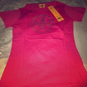 Tory Burch Pink T-shirt